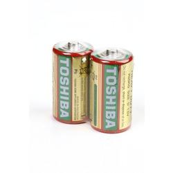 Батарейка бытовая стандартных типоразмеров TOSHIBA Heavy Duty R20 SR2, в упак 24 шт
