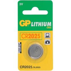 Батарейка дисковая литиевая GP CR2025-B