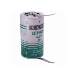 Батарейка литиевый спецэлемент SAFT LS 26500 CNR C с лепестковыми выводами