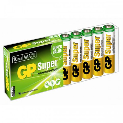 Батарейка бытовая стандартных типоразмеров GP 24A-B10