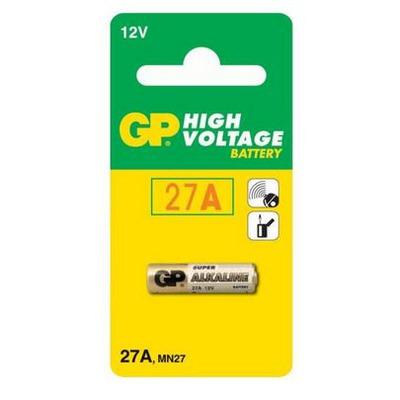 Батарейка бытовая стандартных типоразмеров GP 27A-BC1