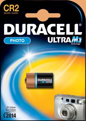 Батарейка Элемент питания DURACELL CR2 ULTRA BL1