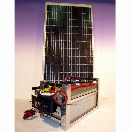 Солнечная энергосистема Солнечная энергосистема Дачник-200/3000 «Профессионал»