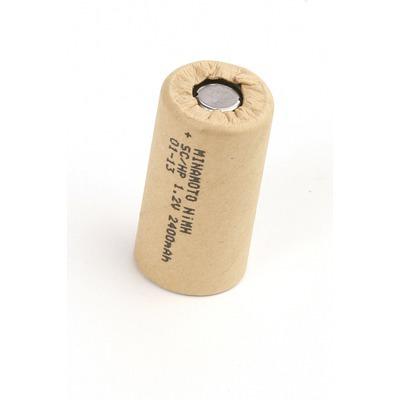 Аккумулятор промышленный MINAMOTO MH-2400SC/HP, в упак 20 шт