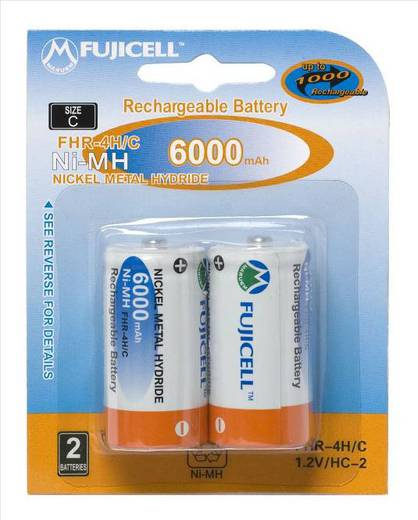 Аккумулятор Fujicell NiMH Rechargeable C6000mAh bl2 FHR-4H/C