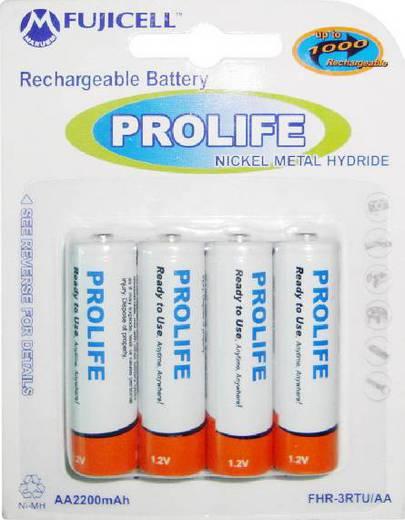 Аккумулятор FUJICELL PROLIFE NiMH AA 2200mAh BL4 FHR-3RTU/A