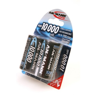 Аккумулятор Ni-MN ANSMANN 10000 D BL2 5030642