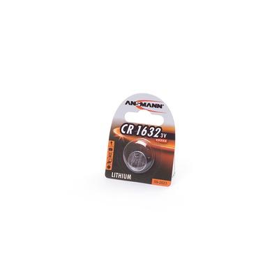 Батарейка дисковая литиевая ANSMANN 1516-0004 CR1632 BL1