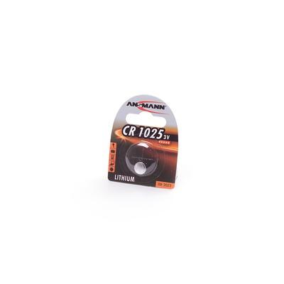 Батарейка дисковая литиевая ANSMANN 1516-0005 CR1025 BL1