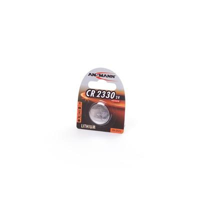 Батарейка дисковая литиевая ANSMANN 1516-0009 CR2330 BL1
