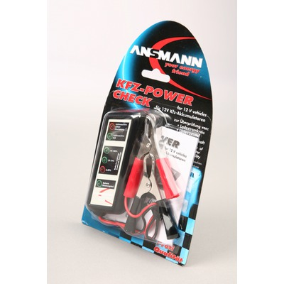 Тестер ANSMANN 4000002 KFZ Power Check BL1