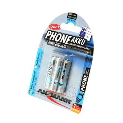 Аккумулятор Ni-MN ANSMANN 800 AAA Special BL3 5030142