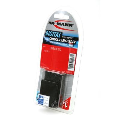 Аккумулятор для фото и видеокамер ANSMANN A-Can LP E10 BL1 1400-0018