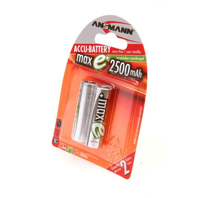 Аккумулятор предзаряженный ANSMANN maxEplus AA 2500 BL2 5035432