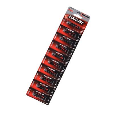 Батарейка бытовая стандартных типоразмеров ANSMANN RED 1511-0011 LR03 BL10