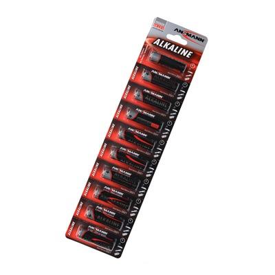 Батарейка бытовая стандартных типоразмеров ANSMANN RED 1512-0021 LR6 BL10