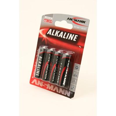 Батарейка бытовая стандартных типоразмеров ANSMANN RED 5015563 LR6 BL4