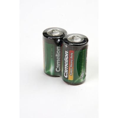 Батарейка бытовая стандартных типоразмеров Camelion R14P-SP2K R14 SR2, в упак 12 шт