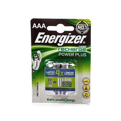 Аккумулятор предзаряженный Energizer Recharge Power Plus AAA 700mAh BL2