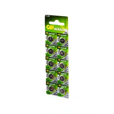 Батарейка алкалиновая часовая GP Alkaline cell А76-2C10 AG13 BL10