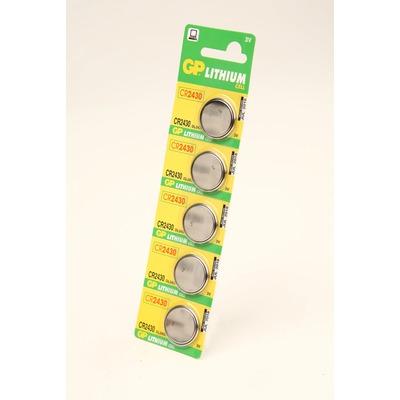 Батарейка дисковая литиевая GP Lithium CR2430-C5 CR2430 BL5