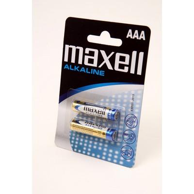 Батарейка бытовая стандартных типоразмеров MAXELL Alkaline LR03 BL2