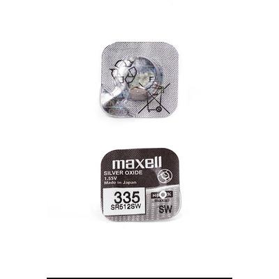 Батарейка серебряно-цинковая часовая MAXELL SR512SW 335 (RUS), в упак 10 шт