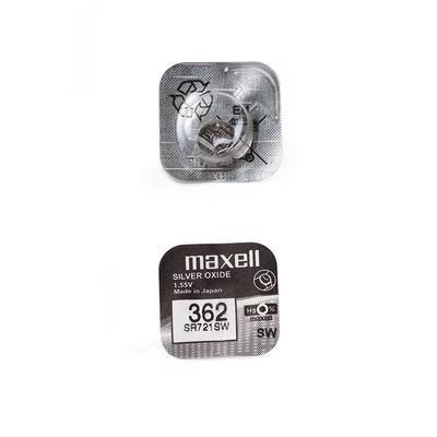 Батарейка серебряно-цинковая часовая MAXELL SR721SW 362 (RUS), в упак 10 шт