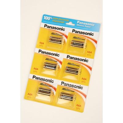 Батарейка бытовая стандартных типоразмеров Panasonic Alkaline Power LR03APB/12BP RU LR03 BL12