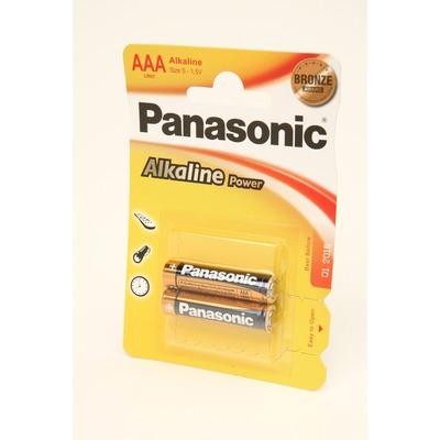 Батарейка бытовая стандартных типоразмеров Panasonic Alkaline Power LR03APB/2BP LR03 BL2