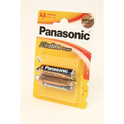 Батарейка бытовая стандартных типоразмеров Panasonic Alkaline Power LR6APB/2BP RU LR6 BL2