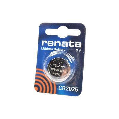 Батарейка дисковая литиевая RENATA CR2025 BL1