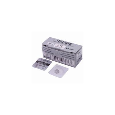 Батарейка серебряно-цинковая часовая MAXELL SR626SW 377 S626L-SG4