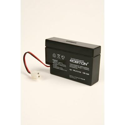 Аккумулятор свинцово-кислотный ROBITON VRLA12-0.8