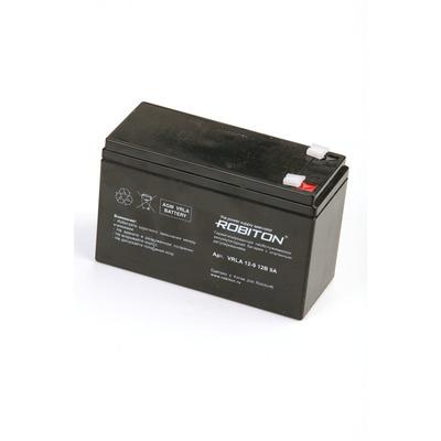 Аккумулятор свинцово-кислотный ROBITON VRLA12-9