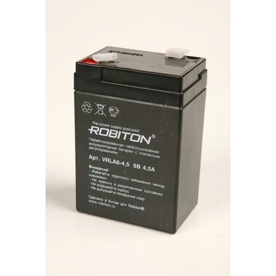 Аккумулятор свинцово-кислотный ROBITON VRLA6-4.5