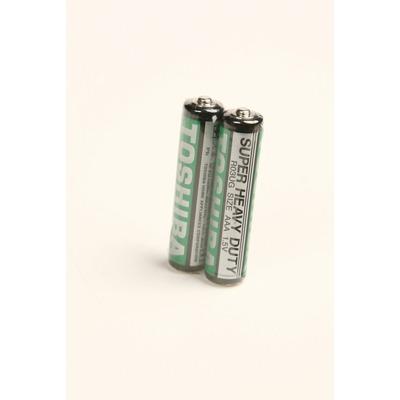 Батарейка бытовая стандартных типоразмеров TOSHIBA SUPER HD R03 SR2, в упак 40 шт