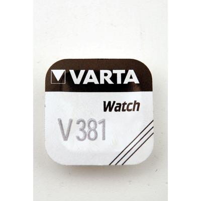 Батарейка серебряно-цинковая часовая VARTA 381