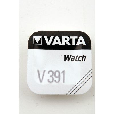 Батарейка серебряно-цинковая часовая VARTA 391