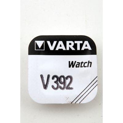 Батарейка серебряно-цинковая часовая VARTA 392