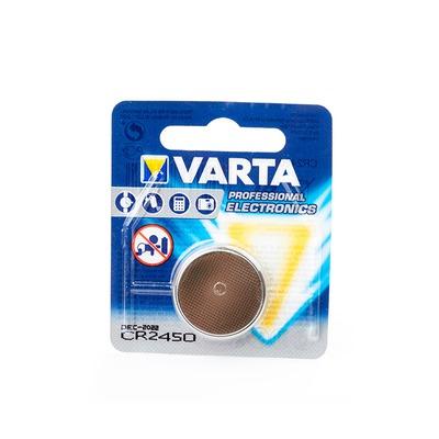 Батарейка дисковая литиевая VARTA CR2450 6450 BL1