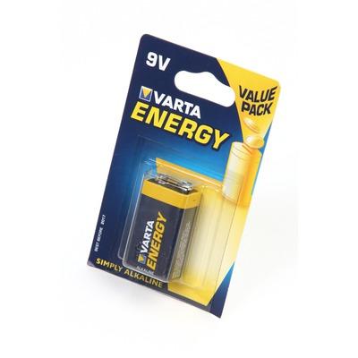 Батарейка бытовая стандартных типоразмеров VARTA ENERGY 4122 9V BL1