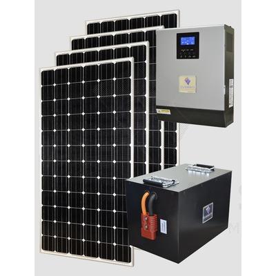 Солнечная энергосистема Санфорс 1280 Li-ion
