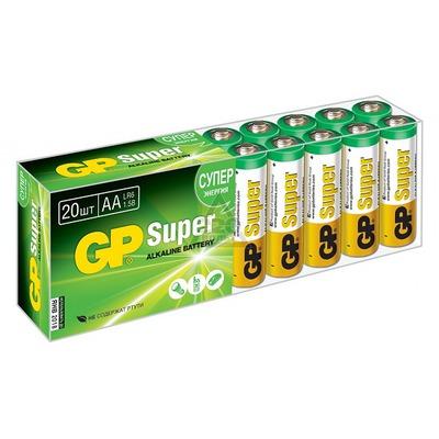 Батарейка бытовая стандартных типоразмеров GP 15A-B20