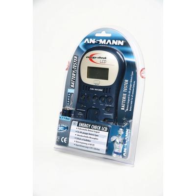 Тестер ANSMANN Energy Check LCD 4000392 BL1