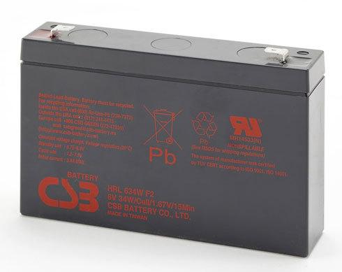 Аккумулятор CSB HRL 634 W