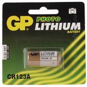 Батарейка дисковая литиевая GP CR123A-BC1