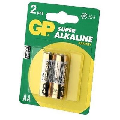 Батарейка бытовая стандартных типоразмеров GP 15A-U2