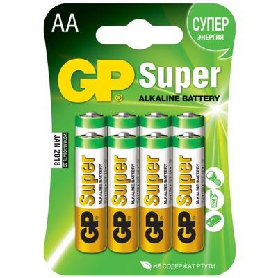 Батарейка бытовая стандартных типоразмеров GP 15A-CR8