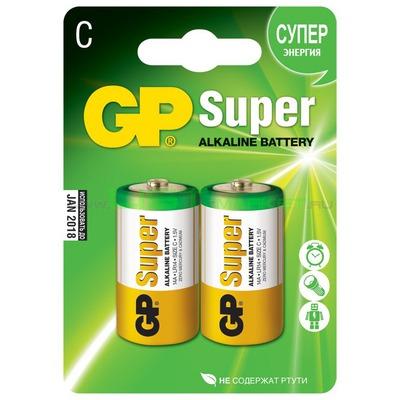 Батарейка бытовая стандартных типоразмеров GP 14AU-BU2 Ultra